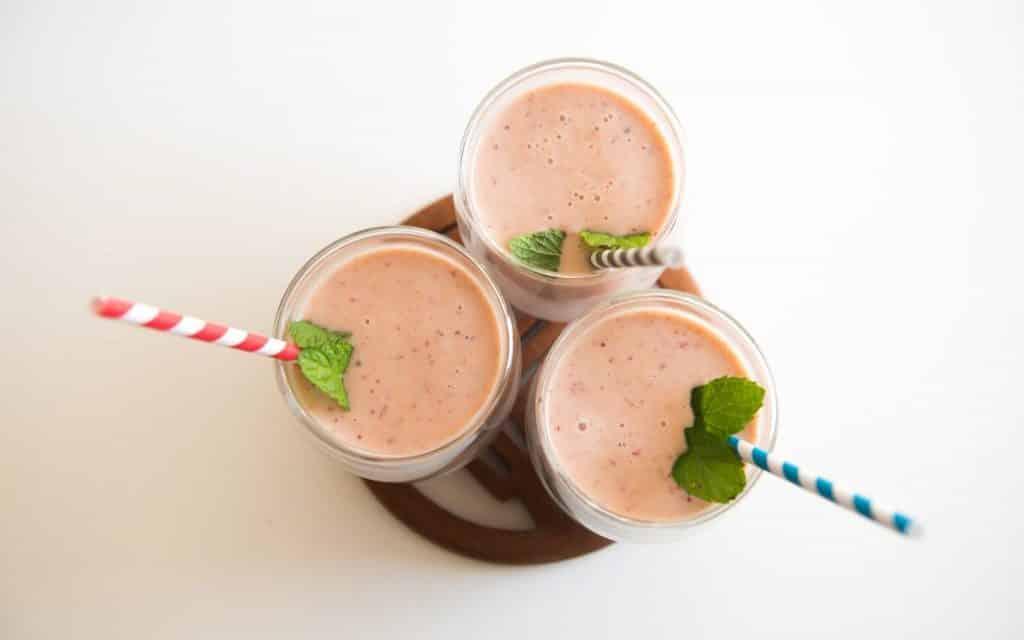Deliciosos smoothies para empezar el día.