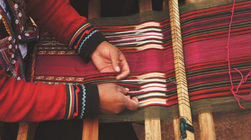 Diseñadora de los artesanos colombianos